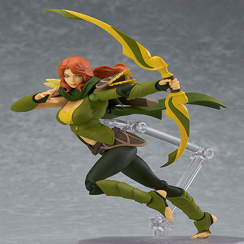 DOTA 2 Variant Action Figure figma SP-070 Windranger Variable Doll PVC Action Figure Collectible Model Toy 14cm KT3545 anime cardcaptor sakura figma kinomoto sakura pvc action figure collectible model toy doll 27cm no box