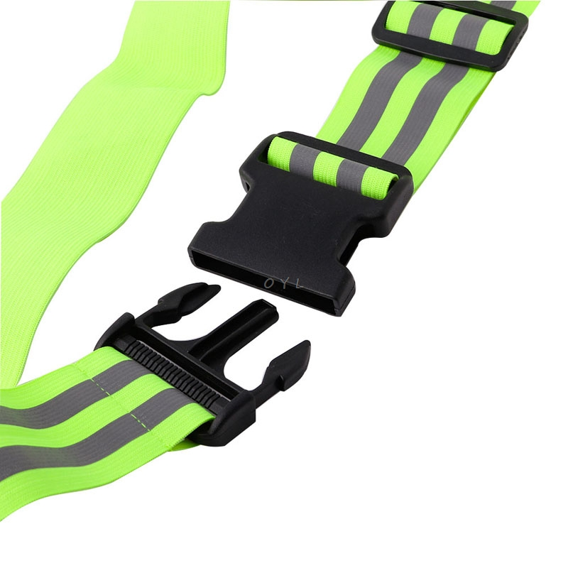 Image 5 - High Visibility Reflective Safety Security Belt For Night Running Walking Biking-in Reflective Material from Security & Protection