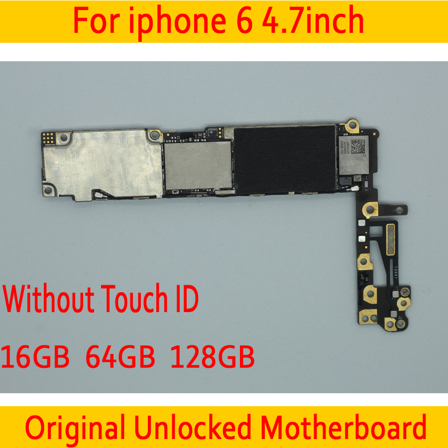 Clean iCloud for iphone 6 Motherboard without Touch ID,Original unlocked for iphone 6 Mainboard with IOS SystemClean iCloud for iphone 6 Motherboard without Touch ID,Original unlocked for iphone 6 Mainboard with IOS System