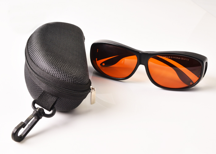 Laser safety goggles for 190 540 and 800 1700nm O D 5 CE 445nm 473nm 515nm 532nm 850nm 980nm 1064nm 1070nm 1320nm 1470nm lasers in Safety Goggles from Security Protection