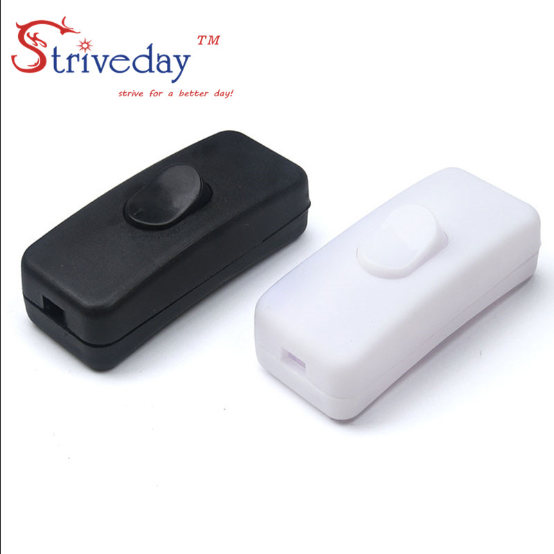 10pcs Switch Halfway Rocker Table Lamp Momentary Push Button Rocker Switches
