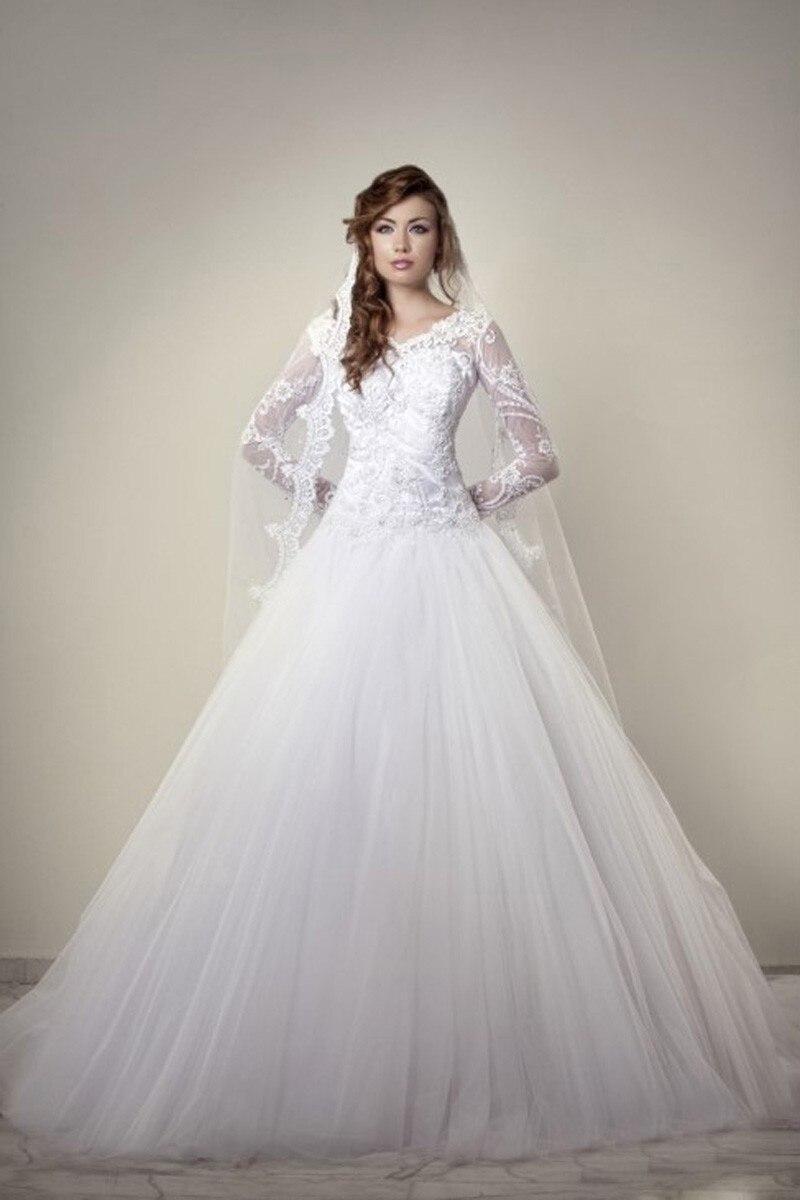 High Quality Korean Style Wedding Dress 2016 Robe De Mariee