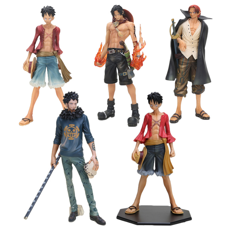 One Piece 2 years after Monkey D Luffy shanks Trafalgar law ACE Master Stars Piece PVC Action figure toys