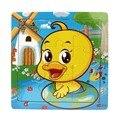 Moderno Em Madeira Crianças Jigsaw Puzzles Brinquedos Para As Crianças da Educação E Aprendizagem Brinquedos Mar29
