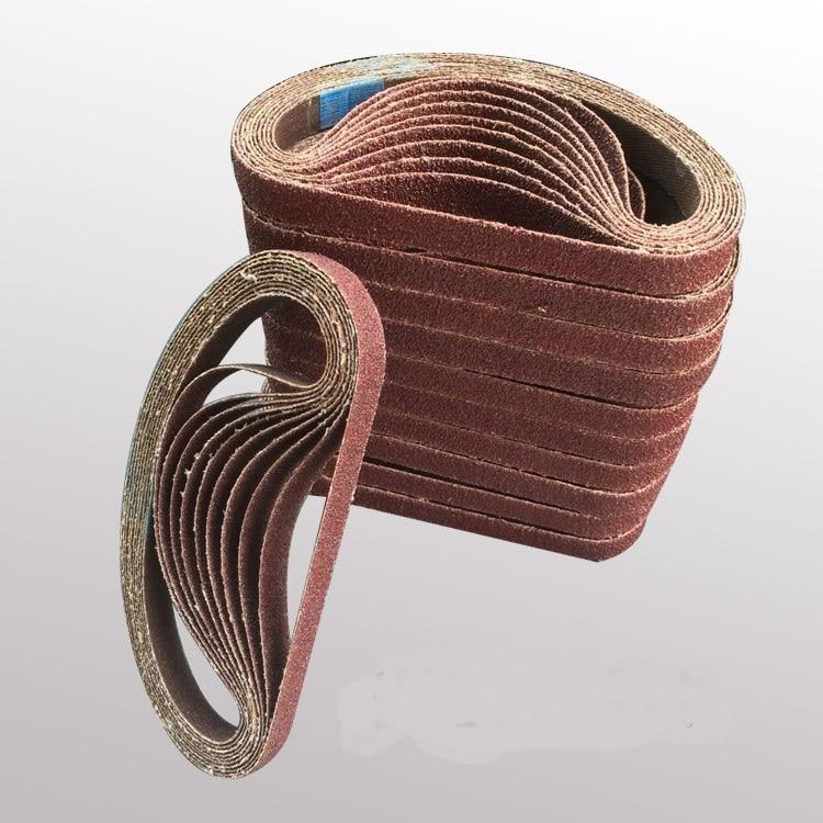 NEW 50pcs 330*10mm Abrasive Sanding Belt  for Air Belt Sander Rated  P60-P400