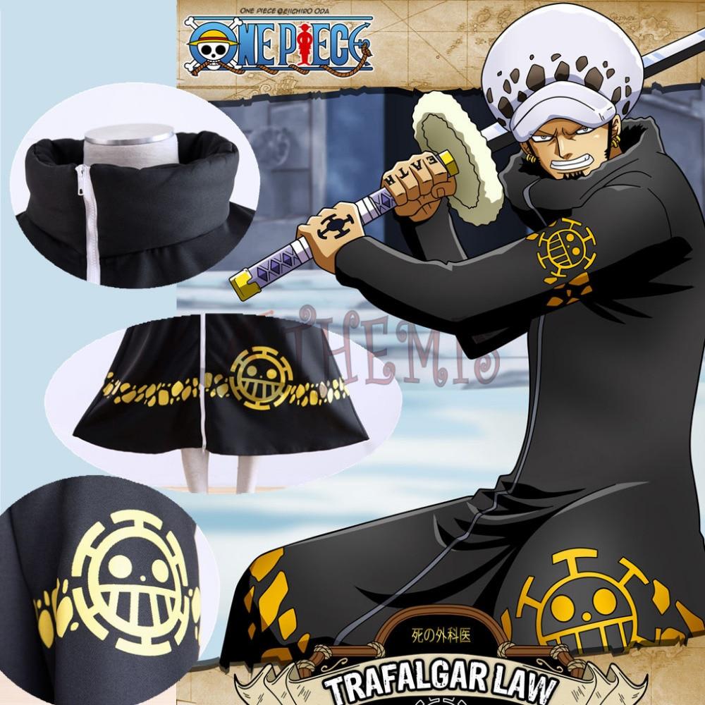 Athemis ONE PIECE Trafalgar Law (Trafalgar D Law Water) jaket panjang - Kostum karnival - Foto 5