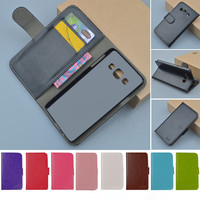 Business Top Luxury Leather Flip Cikou For Samsung A3 Cellphone Case High Quality Brand Phone Cover