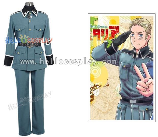Hetalia: Axis Powers Germany Military Uniform - Disfraces