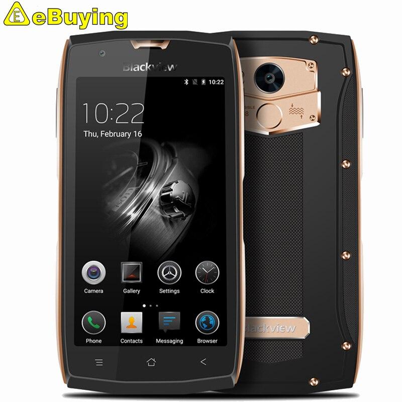 Цена за Blackview BV7000 Pro Мобильный Телефон IP68 Водонепроницаемый MT6750T Octa Ядро 5.0 дюймов FHD 4 Г RAM 64 Г Отпечатков Пальцев GPS глонасс 4 Г Смартфон