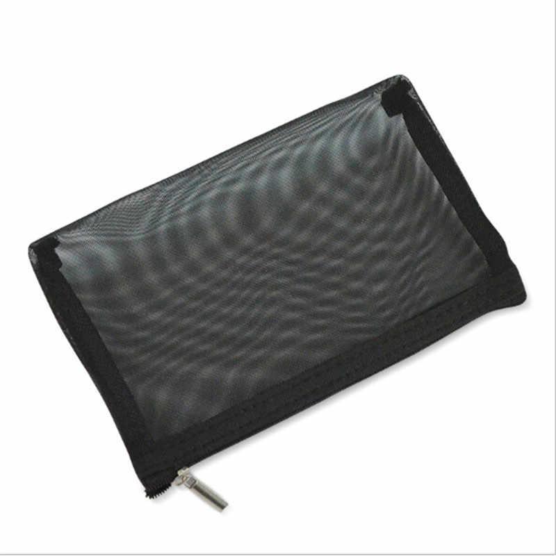 1 PC 透明女性化粧品バッグ旅行機能化粧ケースジッパーオーガナイザー収納小さな美容ウォッシュバッグ
