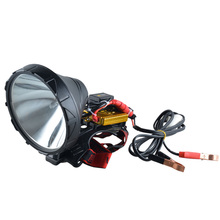 Portable head flashlight xenon Spotlight 12V 160W HID headlamp fot hunting,camping,fishing,work