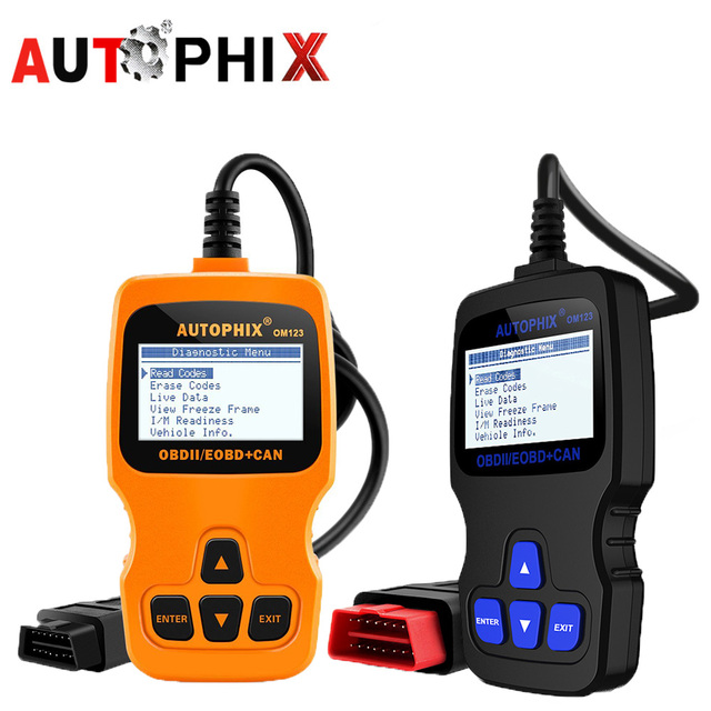 US $36 11  Autophix OM123 obd2 Engine Scanner Analyzer Diagnostic Tool Code  Reader Car Automotive Diagnostic Scanner Better Than Elm327-in Engine
