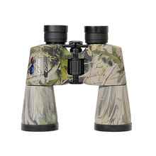 Compact Binocular Telescope 10x50 Camouflage HD Waterproof Wide Angle Binoculars with UV-Stop Outdoor Camping Hunting Telescopes
