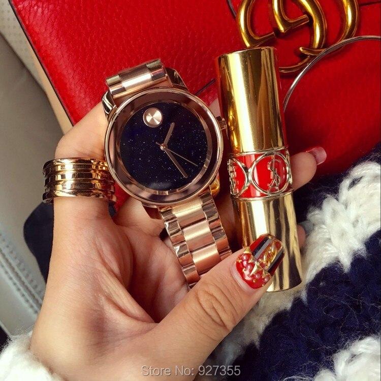 Top qualité de luxe dame cristal montre femmes or robe montre. Fashion cadeau strass montres femme noir montres Mashali