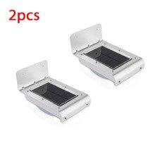 16 LED Solar Power Energy Rechargeable PIR Infrared Motion S