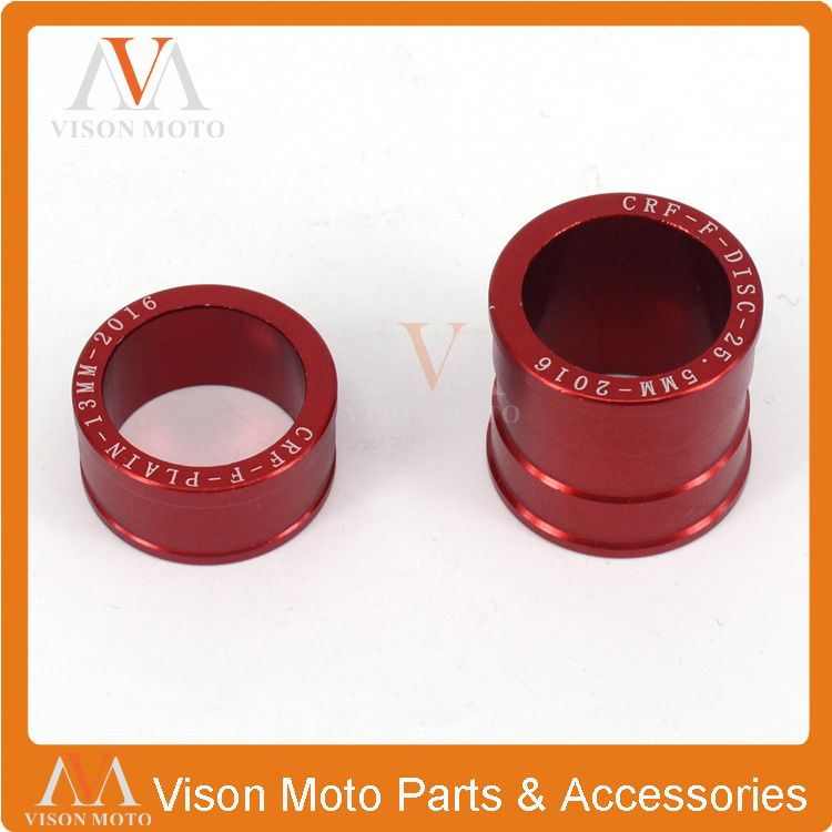Billet Front Wheel Hub Spacer For Honda CR125 CR250 CRF250R CRF250X CRF450R CRF450X Motocross Enduro Supermotard Motorcycle