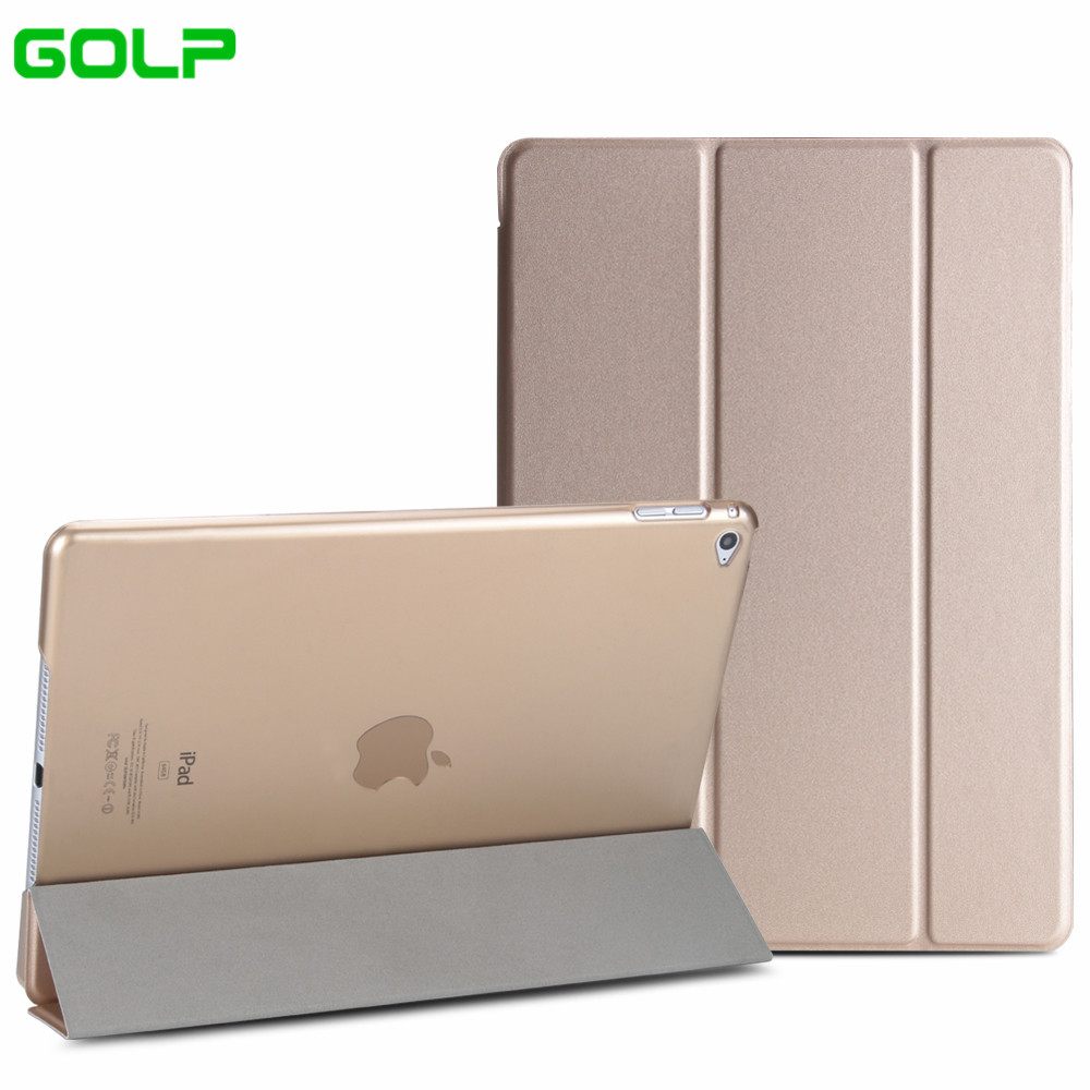 Case for iPad mini 4, GOLP PU Leather Solid Color Ultra Slim Light weight Translucent PC Back Smart Cover Case for iPad mini 4 case for ipad 2 3 4 golp ultra slim pu leather flip case cover soft tpu back magentic smart cover for ipad 2 3 4 a1430 a1460