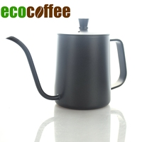 600ML Stainless Steel Coffee Kettle Teapot Coffee Kettle with handle Style V60 Tea and Coffee Drip Kettle