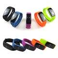 """ID107 Atividade Rastreador Smartwatch com Função de Monitor de Freqüência Cardíaca Do Monitor Cardiaco 0.49 """"Tela Bluetooth 4.0 Pulseira"""