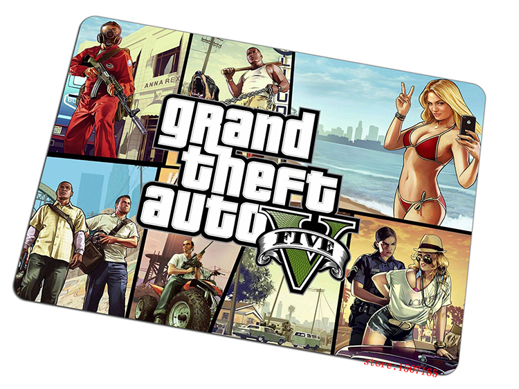 Grand Theft Auto mouse pad 2016 new pad to mouse Adorable computer mousepad gaming padmouse gamer to laptop keyboard mouse mats
