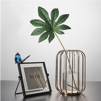 Transparent Lantern Hydroponic Glass Vase Nordic Creative Home Dining Table Flower Decoration Home Vase Decoration
