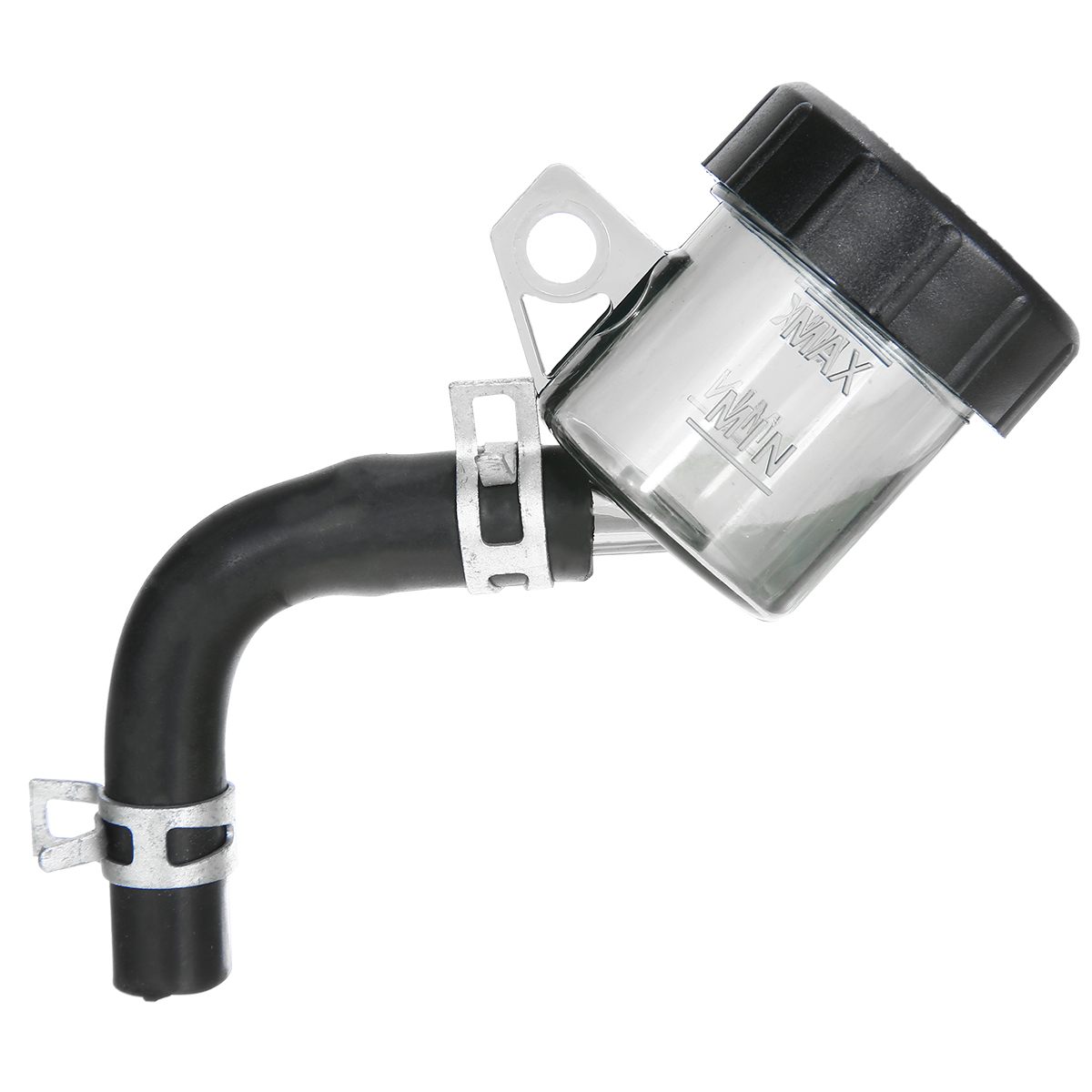 Mayitr 1pc Universal Motocycle Rear Brake Clutch Master Cylinder Fluid Reservoir Oil Tank Cap For Honda