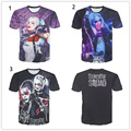 Suicide Squad 3D T shirts Arkham Asylum Harley Quinn Joker Cosplay T-shirt Boomerang Unisex Men Women Casual Tee Tops