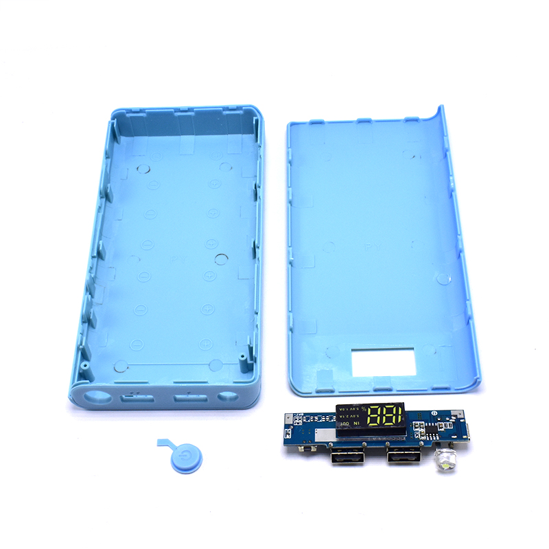 quality design 1b68f 2fa1f Wholesale price 2.1A 4 USB LED Power Bank Case 6x18650 Battery Charger DIY  Box Case Kit for Phone New for Dropshipping-in Battery Storage Boxes from  ...