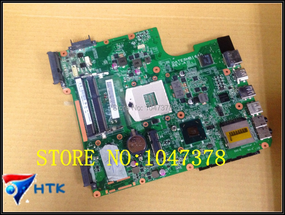 Wholesale mainboard for Toshiba Satellite L745 L700 Laptop motherboard DA0TE5MB6F0 A000074690 100% Work Perfect  motherboard for toshiba satellite t130 mainboard a000061400 31bu3mb00b0 bu3 100% tsted good