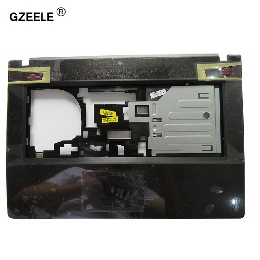 GZEELE New For 14inch Lenovo Y400 Y400N Y410P Y430P Series Upper Case Palmrest Cover AP0RQ000C0J C cover New Laptop Shell genuine new for lenovo ideapad y400 y410p y410 palmrest keyboard bezel upper case with touchpad bottom cover base lower case
