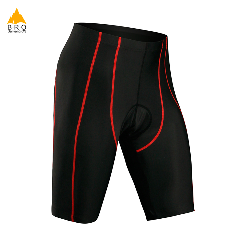 все цены на Men cycling shorts with 3d gel pad bike shorts Bicicleta Shorts ciclismo quick dry bicycle shorts New Arrival S-3XL онлайн