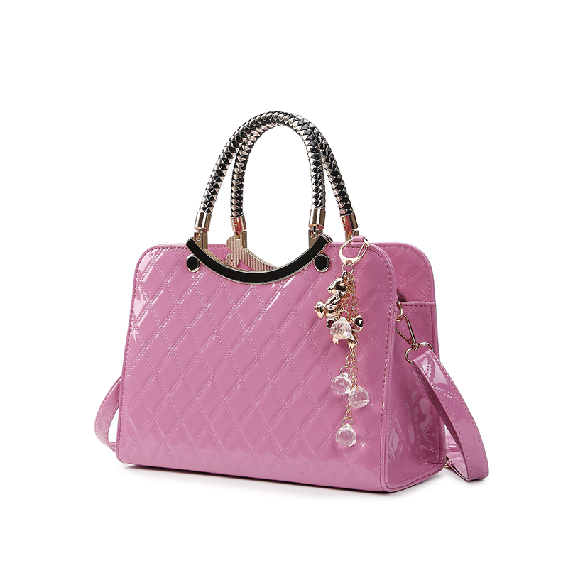 Fashion Women PU Leather Handbags Femme Top Handle Bags Elegant Ladies Messenger Bag Top-Handle Bag Bolsa Feminina TDL495