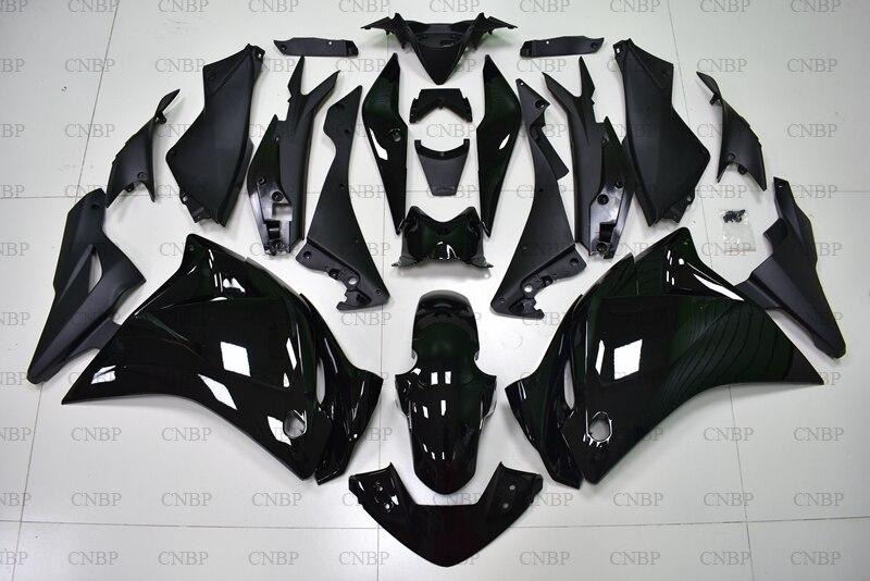 CBR 250 RR 11 12 Abs carénage CBR250 RR 2011-2014 noir brillant corps complet Kits CBR250 RR 2013 Abs carénage