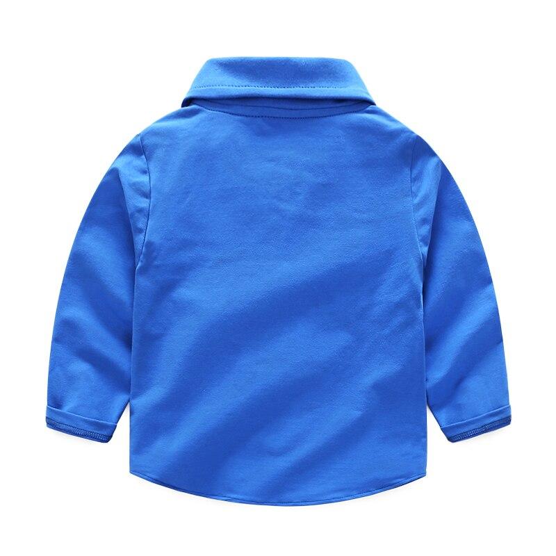 Koszulka dziecięca z guzikami Koszulka polo dla dziewczynki z - Ubrania dziecięce - Zdjęcie 2