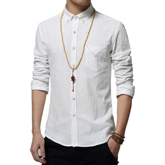 S-4xl Wudang тайцзицюань рубашка 2016 весной новой модели с длинными рукавами хлопок мужская рубашка воротник среднего возраста утренней зарядки одежды