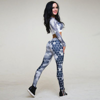 New-Hexagon-Womens-Compression-Suit-Two-Piece-Set-Long-Sleeve-Crop-Top-And-Slim-Leggings-Two-Piece-Set-3