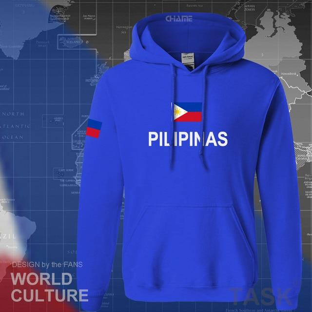Philippines hoodies men sweatshirt sweat new hip hop streetwear clothing jerseys tracksuit nation Filipino flag PH Pilipinas 4
