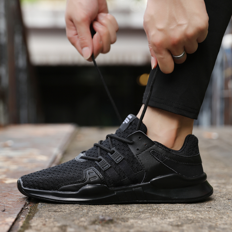 Spring Autumn Popular Fashion Casual Shoes For Men Breathable Male Sneakers Adult Non-slip Comfortable Footwear 3 Colors #4