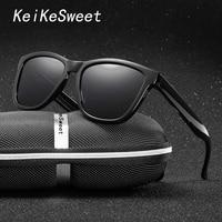 KeiKeSweet Polarized HD Cool Sport Fishing Men Women Brand Designer Sunglasses Hot Rays Driving Aviador Masculino