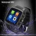 2017 Горячие Smart Watch X01 Bluetooth3.0 Android GPS 2 Г/3 Г Двойной Core 512 МБ 4 ГБ ROM Водонепроницаемый Шагомер поддержка sim-карты камера