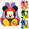 2016 Hot Cartoon mickey children backpack/kids kindergarten backpack/kid school bags/Satchel for boys and girls Mochila Backpack