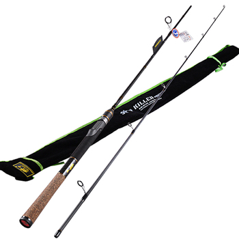 Spinning Fishing Rod 2 Section1.98m/2.1m Power:M IM7Carbon 99% FUJI Guide Ring Lure Rods Vara De Pesca Canne A Peche Carp