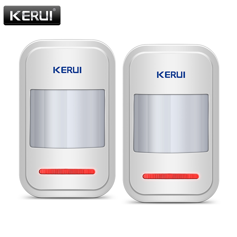 KERUI Wireless Infrared PIR Sensor Built-in Antenna 433MHz PIR Motion Sensor Detector For GSM PSTN Home Alarm System