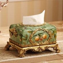 OUSSIRRO 2019 NEW Chinese style Luxury Tissue Box Fashion Elegant Household living Room Desktop Towel Napkin Holder