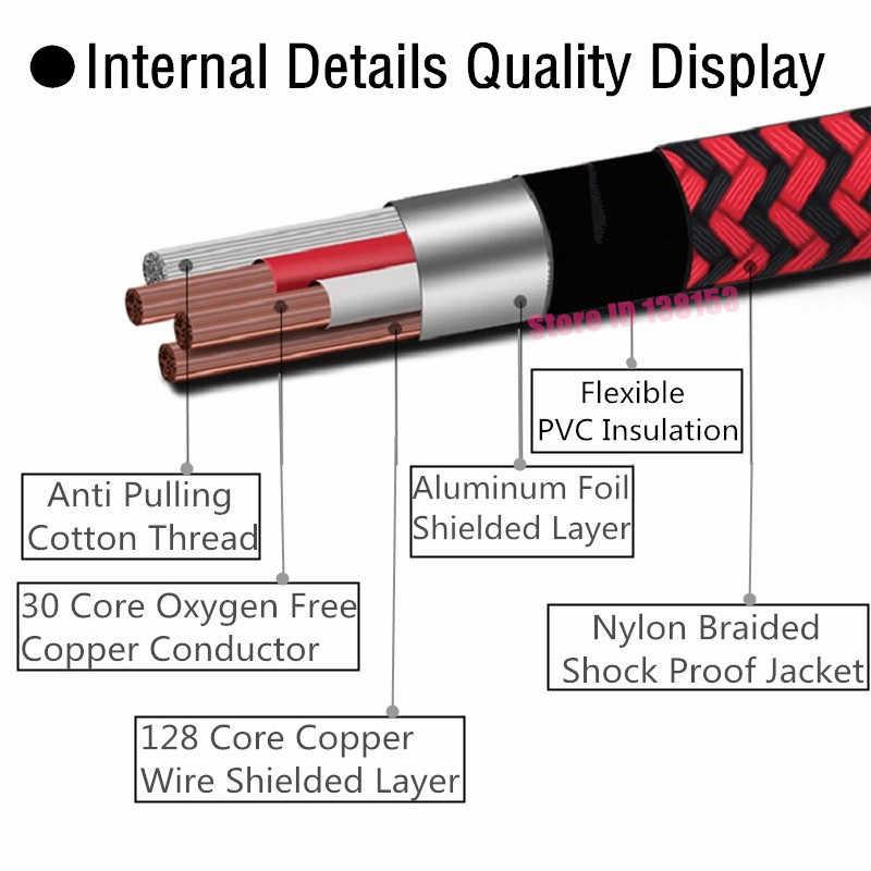 Стерео 3,5 мм мужчин и женщин аудио удлинитель для iPhone iPad ноутбук, мобильный телефон усилители для наушников кабели aux 1 m 2 m 3 m 5 m