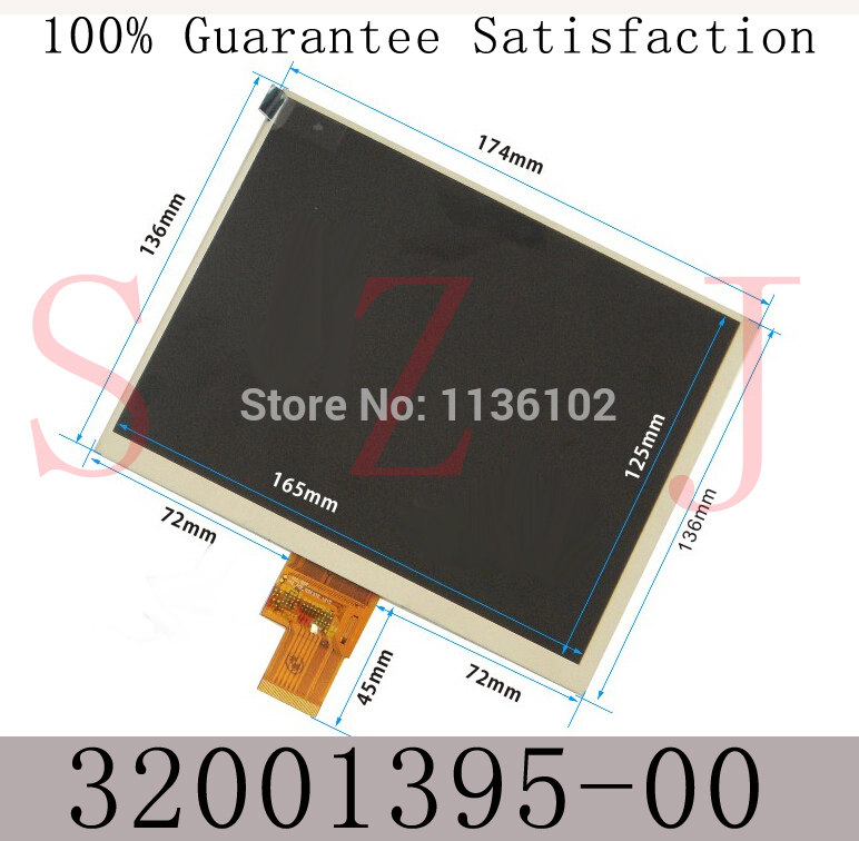 8 inch LCD screen display tablet IPS screen for CUBE U9GT3-3 display,HJ080IA-01E M1-A1 32001395-00 for PC MID Free shipping 11 6inch lcd display screen for cube