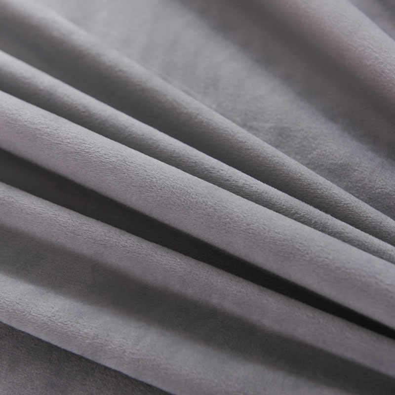 Бархатный Водонепроницаемый Матрас протектор супер мягкие простыни против клещей матрас покрытие Матрас протектор матрас Топпер односпальная кровать
