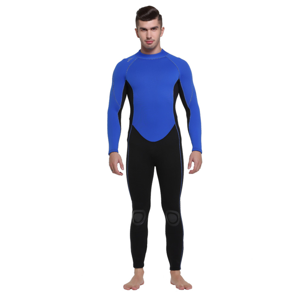 8ef8790a83 SBART outdoor 3MM thickening men s warm winter bathing suits swimwear male diving  suits long sleeve Siamese swimsuit wetsuit