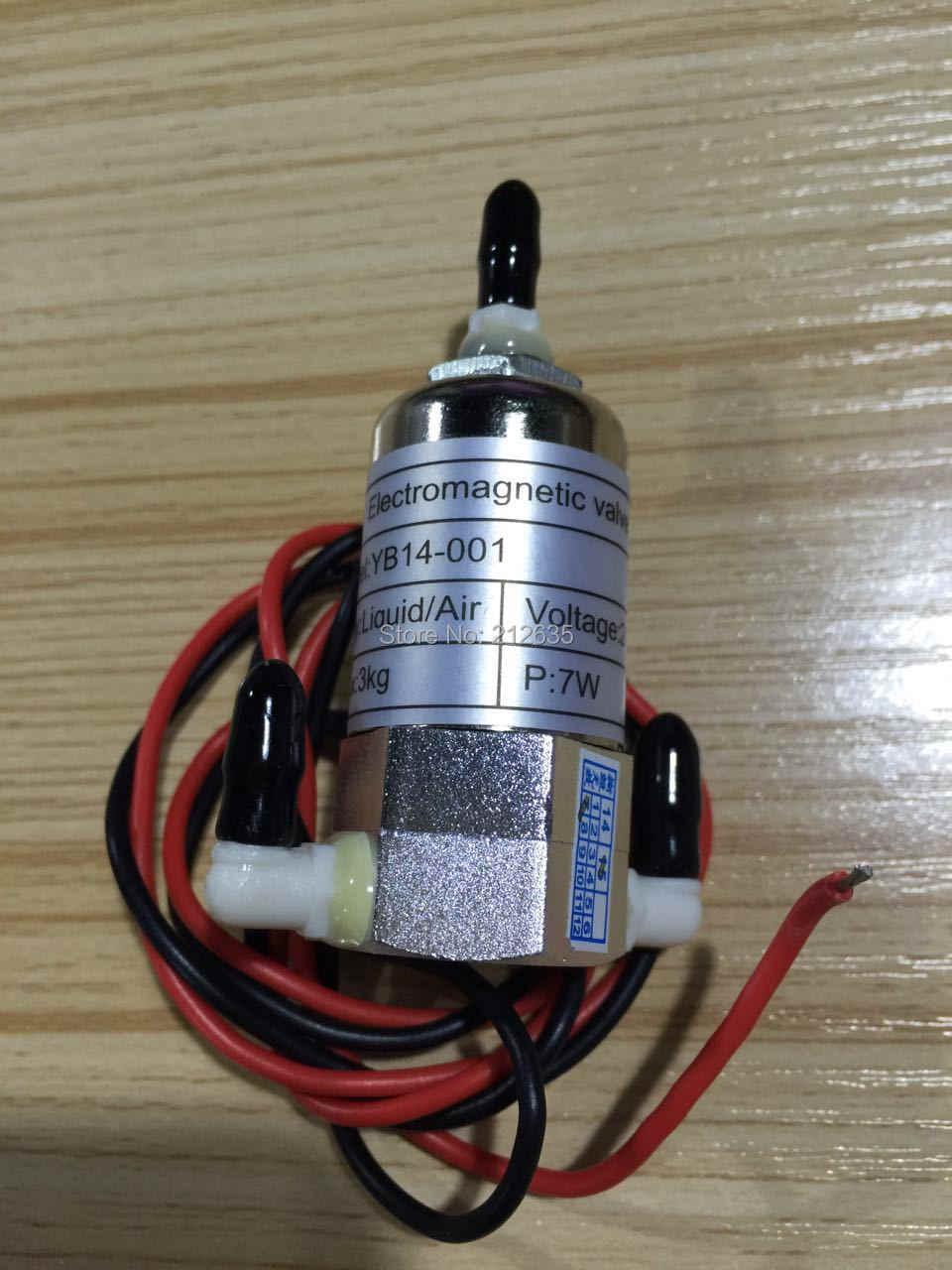 4 pcs 3 way solenoid valve untuk infiniti allwin myjet jhf kristal-jet printer zhongye wit-color