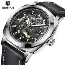 Relogio Masculino BENYAR Mens Watches Top Brand Luxury Automatic Mecha